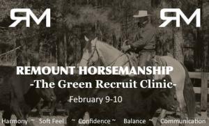 Green Recruit Clinic @ Carolina Morning Stables | Siler City | North Carolina | United States